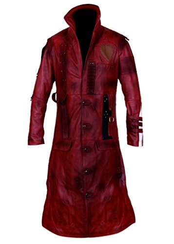 F&H Men's Guardians Of The Galaxy Vol 2 Yondu Michael Rooker Coat M Maroon