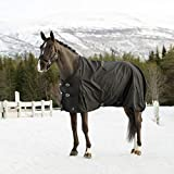 Product review for Horze Nevada 1200D Waterproof Turnout Sheet, Black,