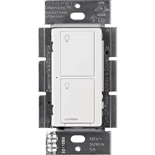 Lutron Caseta Wireless Smart Lighting Switch for All Bulb Types and Fans PD-5ANS