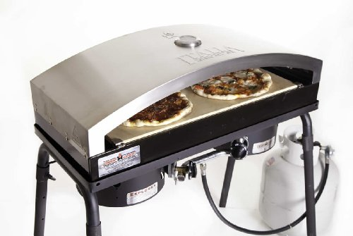 CAMP CHEF 14X32 Italia Artisan Outdoor Pizza Oven Accessory, Silver