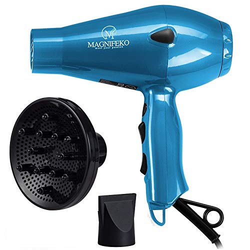 1875W Professional Hair Dryer with Ionic Conditioning hairdryer powerful blow dryer with diffuser