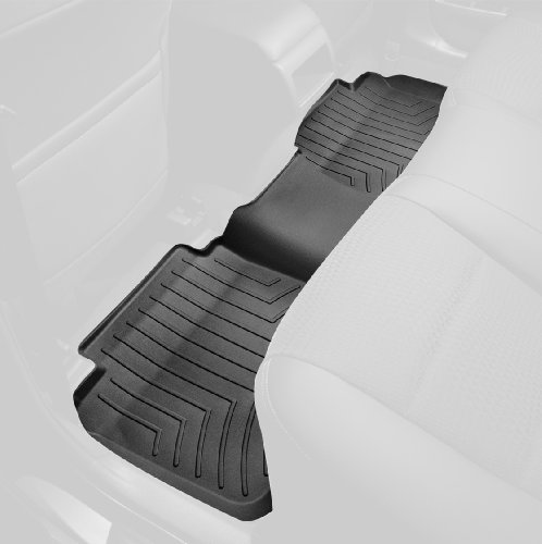 WeatherTech Custom Fit Rear FloorLiner for Select Chevrolet/GMC Models (Black)