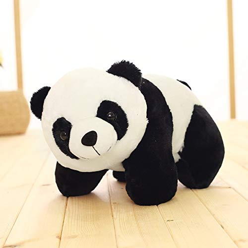 Buy Funny Teddy Cute Panda Toy Gift Birthday Soft Stuffed Animal White Black 26 Cm Online At Low Prices In India Amazon In