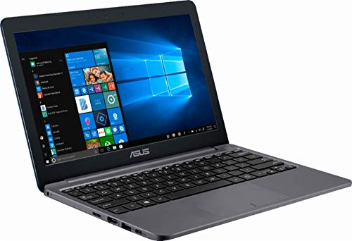 2018 ASUS Laptop - 11.6' 1366 x 768 HD Resolution - Intel Celeron N4000 - 2GB Memory - 32GB eMMC Flash Memory - Windows 10 - Star Gray
