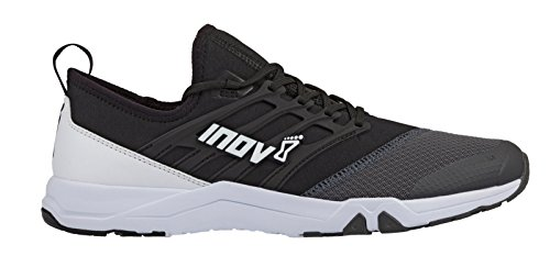 Inov-8 Unisex F-Train 240 | Ultimate Gym, HIIT and Cross Training Workout Shoe | for Versatile Training | Black/Grey M10.5/ W12