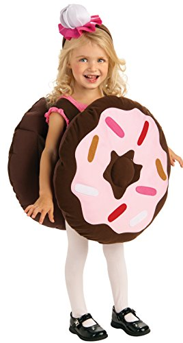 Rubie's Costume Trick Or Treat Sweeties Dunk Your Doughnut Costume, Pink, Toddler