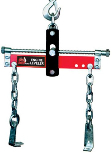 Torin Big Red Engine Hoist / Shop Crane Accessory: Steel Engine Leveler, 3/4 Ton (1,500 lb) Capacity