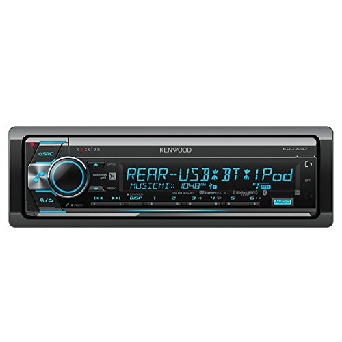 Kenwood Excelon KDC-X501 CD Receiver with Built in Bluetooth