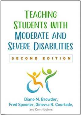 Cover of Teaching Students with Moderate and Severe Disabilities