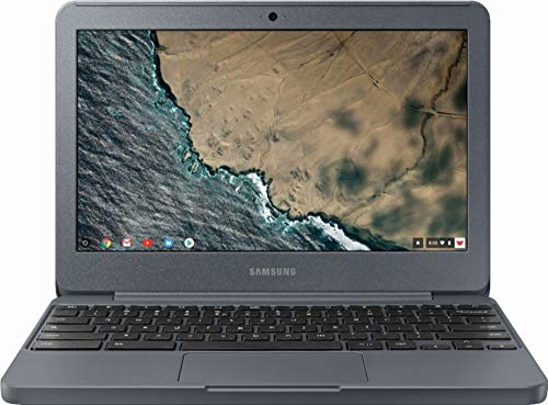 Samsung Chromebook 3 XE501C13-K01US, Intel Dual-Core Celeron N3060, 11.6' HD, 2GB DDR3, 16GB eMMC, Night Charcoal