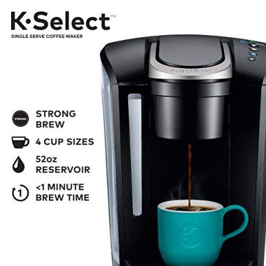Keurig-K-Select-Coffee-Maker-Single-Serve-K-Cup-Pod-Coffee-Brewer-With-Strength-Control-and-Hot-Water-On-Demand-Matte-Black