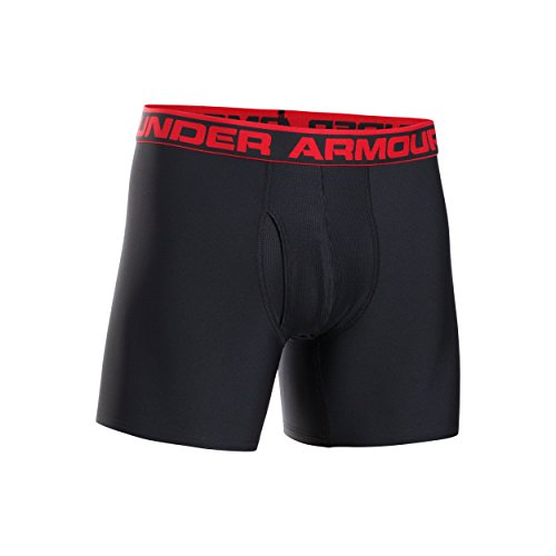 "Under Armour Men's Original Series 6"" Boxerjock, Midnight Navy (410)/Steel, XX-Large"
