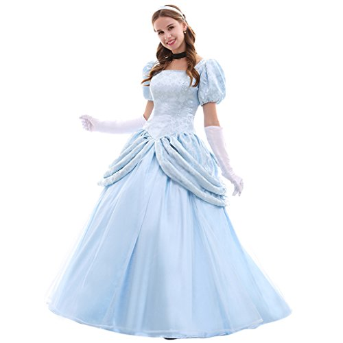 Women's Halloween Fancy Dress Princess Costume Dress Set