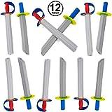 Tigerdoe Foam Swords for Kids - 12 Pack Toy Swords - Ninja Swords - Toy Weapons Swords