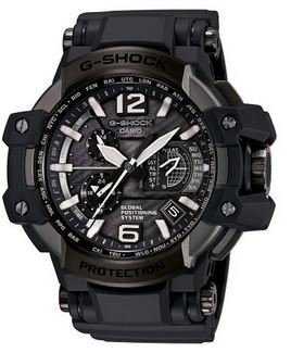 Casio G-Shock Gravity Master Black Dial Multi Solar Watch GPW1000T-1A