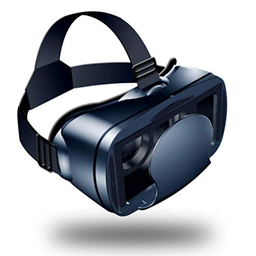 YWT VR Headset Glasses, Virtual Reality Goggles for iPhone 6-8/Plus/X and S6/S7/S8/Notebooks and Other Android Phones, Compatible with 5-7' Screen Phones