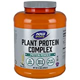 Now Sports Nutrition, Plant Protein Complex Powder, Creamy Vanilla, 6-Pound
