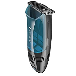 Remington HC6550 Cordless Vacuum Haircut Kit, Vacuum Beard Trimmer, Hair Clippers for Men (18 pieces)  Image 3