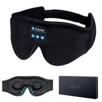 Sleep Headphones,3D Sleep Mask Bluetooth 5.0 Wireless Music Eye Mask, LC-dolida Sleeping Headphones for Side Sleepers…
