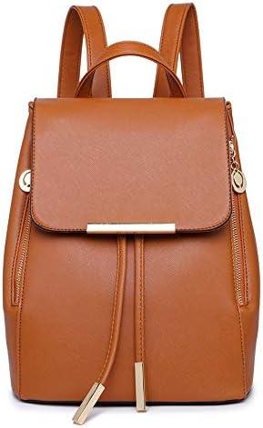 B&E LIFE Fashion Shoulder Bag Rucksack PU Leather Women Girls Ladies Backpack Travel bag