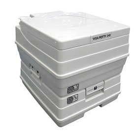 Sanitation Equipment Visa Potty Model: 268 24 Liter with 2-level Indicators