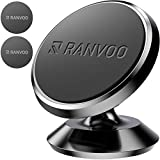 Magnetic Car Phone Mount, Ranvoo Universal Magnet Dashboard Adhesive Car Mount Cell Phone Holder iPhone XR iPhone Xs 7/8 Samsung S8 S9 LG GPS
