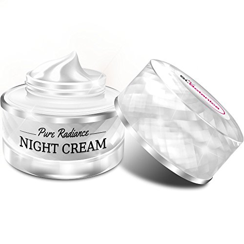 412gdBoGUQL - StBotanica Pure Radiance Night Cream - Intensive Firming, Anti-Aging & Skin Brightening, 50gm (With Vitamin C, Retinol, Hyaluronic acid, Collagen)
