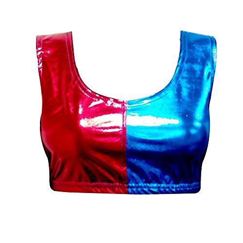 Ladies-Red-Blue-Fancy-Dress-Halloween-Costume-Set-Pick-Mix