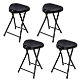 Product review for Atlantic Folding Stool with Handle, Black (4-Pack)