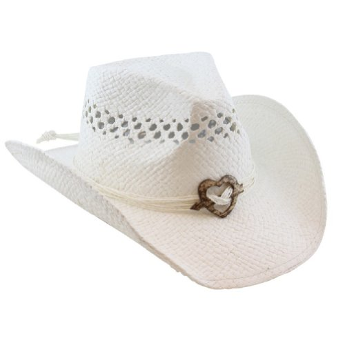 Boho Hip Cowboy Hat with Heart Concho 1e42d70d6696