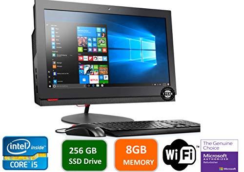 Lenovo-ThinkCentre-M800Z-215-in-HD-All-in-One-Desktop-Computer-Intel-Quad-Core-i5-6500-32-GHz-8GB-RAM-256GB-SSD-HDD-USB-30-DVDRW-DiaplayPort-RJ-45-Windows-10-Professional-Renewed