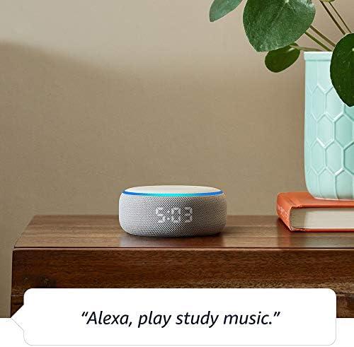 Echo Dot (3rd Gen) - Smart speaker with clock and Alexa - Sandstone 7