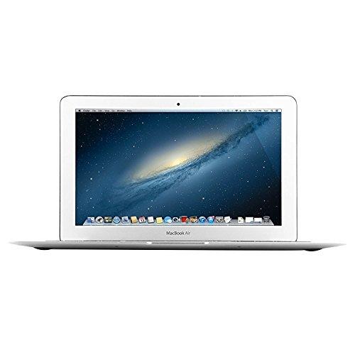 Apple MacBook Air MD711LL/A 11.6-Inch HD Laptop Computer, Intel Core i5 Processor 1.3GHz, 4GB RAM, 128GB SSD, 802.11ac WiFi, USB 3.0, Bluetooth 4.0; MAC OS X (Renewed)