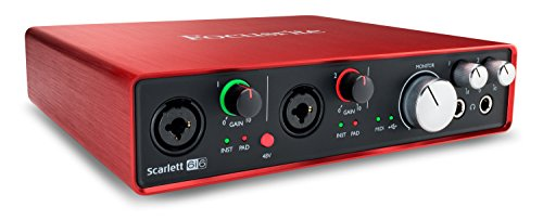 Focusrite Scarlett 6i6 (2nd Gen) USB Audio Interface with Pro Tools | First