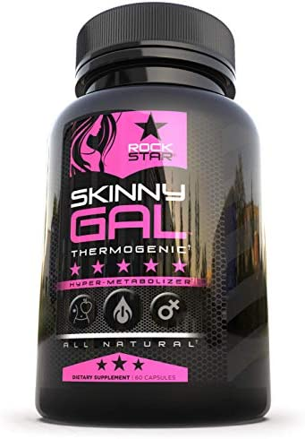 Skinny Gal Weight Loss For Women, Diet Pills by Rockstar, Thermogenic Diet Pill and Fat Burner, Weight Loss Pills, 60 Veggie Caps 7
