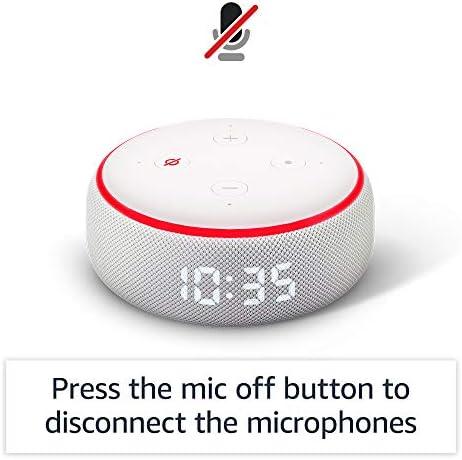 Echo Dot (3rd Gen) - Smart speaker with clock and Alexa - Sandstone 9