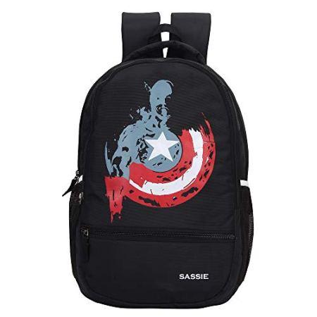 Black School Bag/Casual Backpack