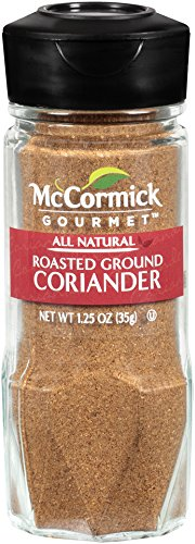 McCormick Gourmet Collection Coriander, Ground Roasted, 1.25-Ounce