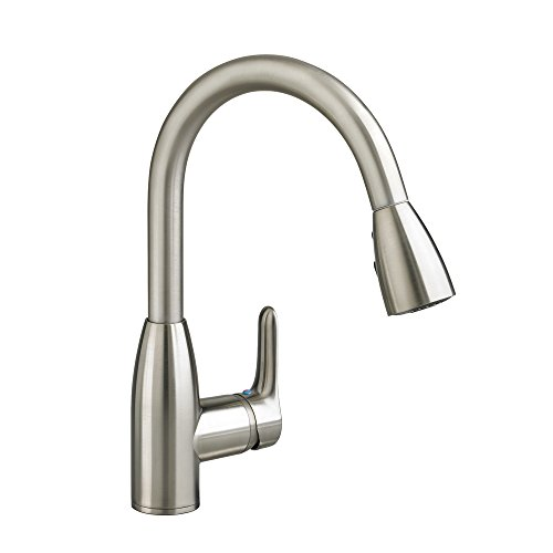 American Standard 4175.300.075 Colony Soft Pull-Down Kitchen Faucet, Stainless Steel