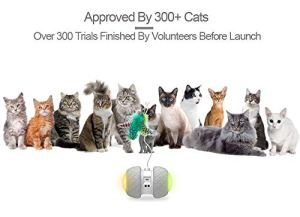 PetDroid-Boltz-Robotic-Cat-Toy-InteractiveAttached-with-FeathersBirdsMouse-Toys-for-CatsKittenLarge-Capacity-BatteryAll-Floors-Available-Grey