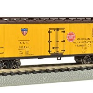 Bachmann Industries Wood Side Reefer American Refrigerator Transit Company N-Scale Freight Car, 40′ 4139sPGZ5CL