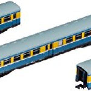 Arnold HN4182 3-Piece Set Set S-Bahn Leipzig The DR, Ep. IV Model Railway Blue/Yellow 413Cekwx06L