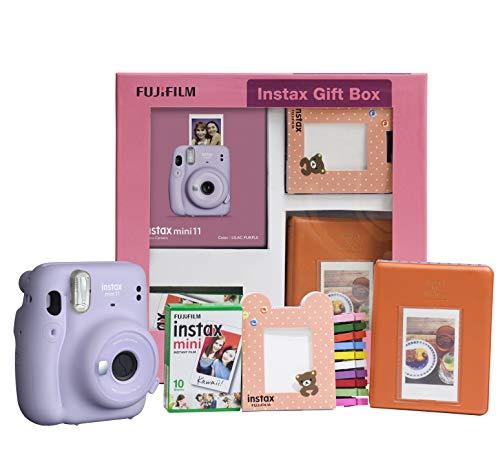 Fujifilm-Instax-Mini-11-Instant-Camera-Lilac-Purple-Gift-Box