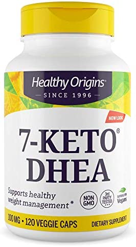 Healthy Origins 7-KETO Vegetarian Capsules, 100 mg, 120 Count 3