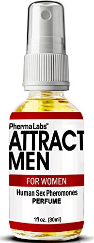 PhermaLabs Pheromones Perfume For Women- 1.0 oz- Attract Men Instantly- Highest Concentration Of Pheromones Possible- Increases Sex Drive- Fresh & Long-lasting Smell