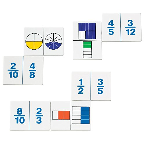 ETA hand2mind Fraction Dominoes