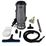 10qt Commercial Backpack Vacuum with Warranty