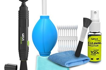 Gizga Essentials Professional Lens Pen Cleaning Pro System + 6-in-1 Cleaning Kit Combo for Cameras and Sensitive Electronics