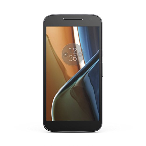 Motorola MOTO G4 (XT1621) 16GB Unlocked GSM 5.5' IPS LCD Display, 13MP+5MP Cameras, Octa-Core CPU Android Smartphone - Black (Renewed)