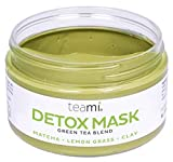 Teami Detox Face Mask - Green Tea Facial Care Mud Mask with Bentonite Clay